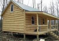 small cabin interior photos small cabin cabin in the woods Simple Cabin Designs With Loft