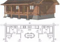 small cabin plan with loft small cabin house plans small cabin floor Plans For Small Cabins With Loft