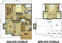 small cottage floor plan with loft small cottage designs Cabin Designs And Floor Plans