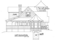 small cottage house plan with loft fairy tale cottage Cabin Plans With Loft And Porch