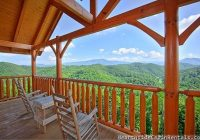 smoky mountain high 3 bedroom cabin in pigeon forge Tennessee Smoky Mountains Cabins