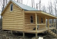 some pics of my 16 x 24 shack small cabin forum 1 Adirondack Cabin Plans 16 X24 With Loft