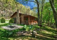 stocked trout creek fishing cabin in the smokies near bryson city nc Cabins Near Bryson City Nc