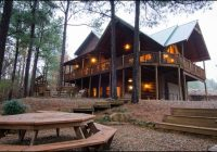 talako lodge cabin rentals beavers bend lodging Broken Bow Oklahoma Cabins