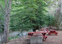 tent camping Riverside Campground And Cabins
