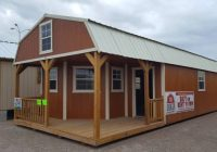 the beeville news 250959 16×40 deluxe lofted barn cabin general Lofted Barn Cabin For Sale