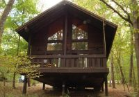 the best log cabins to rent in indiana are at brown county state park Abe Martin Lodge Family Cabin