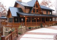 the wildcat trail 2 story custom log home plan Two Story Log Cabin Layouts