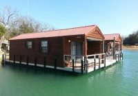 these floating cabins in oklahoma are the ultimate place to stay Lake Murray Floating Cabins