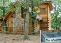 this log cabin lil treehouse a vacation rental branson close Treehouse Cabins Branson Mo