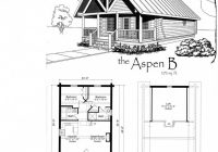 tiny house floor plans small cabin floor plans features of small Small Cabins With Loft Floor Plans