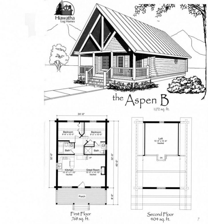 Permalink to Gorgeous Tiny House Log Cabin Floor Plans