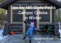tips for mn state park camper cabins in winter Minnesota State Park Cabins