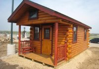trophy amish cabins llc 10 x 20 hunter 200 sf standard 4 Small Cabin Plans With Loft 10×20