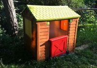 two tremendous little tikes makeovers diy little tikes makeover Little Tikes Cabin Playhouse