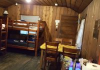 view of cabin from the kitchen area picture of cama beach state Cama Beach State Park Cabins
