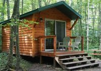 washington island campground located in beautiful door county wi Pet Friendly Camping Cabins