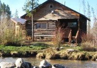 waterfront cabins on the north fork of the colorado river opening up Romantic Cabins In Colorado