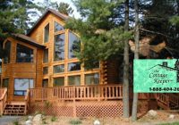 wisconsin cabin rentals vacation rentals resorts Fishing Cabins In Wisconsin