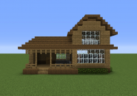 wooden house 16 grabcraft your number one source for minecraft Minecraft Cabin Blueprints