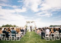 youve got to see the gorgeous wedding arbor at this waterfront Inn At Perry Cabin Wedding