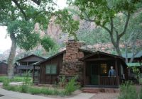 zion lodge cabin picture of zion lodge zion national park Cabins In Zion National Park